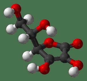Structuur vitamine C