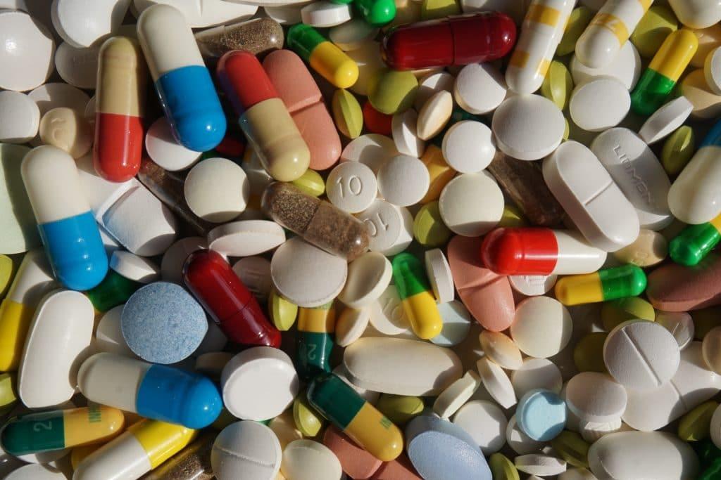 Medische pillen antibiotica
