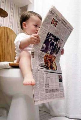 Kind op wc