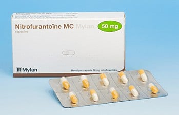 nitrofurantoïne-capsules
