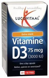 Lucovitaal vitamine d 75mcg